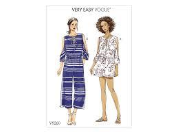 Jumpsuit Pattern Vogue Cool Pattern Vogue 48 Jumpsuit Fabricshemmers
