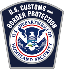 Customs patch svg s Commons Protection U Of Wikimedia File Border - And The