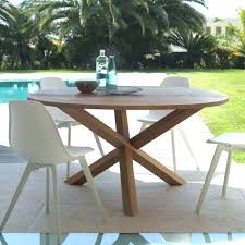 round outdoor table cover 9 piece patio dining set rance modern teak outdoor furniture table sets large round