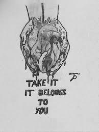 Deep Love Tinpglr Drawings Illustration People Figures