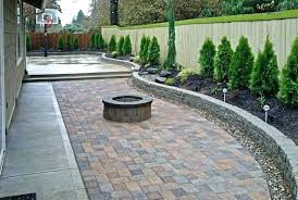 cheap patio paver ideas. Outdoor Paver Patio Ideas Backyard Large Size Of Stones And Block With Fire . Cheap C