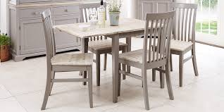 florence stunning rectangle extended kitchen dining table and chairs sits upto 4 ebay