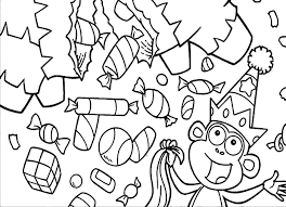 Small Picture Free Printable Candy Coloring Pages For Kids
