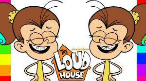 Coloring Luan Loud The Loud House Nickelodeon Coloring Pages For