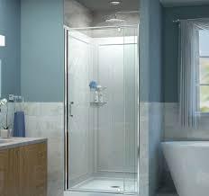 dreamline dl6218c01cl flex 36in w x d 7634in h frameless shower door dreamline shower doors 684