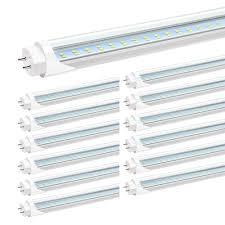 T12 Led Tube Light Us 58 49 35 Off 4ft T8 Led Tube Light Bulbs 24w 5000k Daylight White 3000lm 4 Foot T12 Led Replacement For Flourescent Tubes Ballast Jk871 In