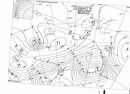 Weather Sa Synoptic Chart Mossel Bay Weather Observation South Africa Latest Sea