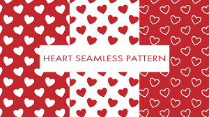 Heart Pattern Custom Illustrator Short Tutorial 48 Heart Seamless Pattern YouTube
