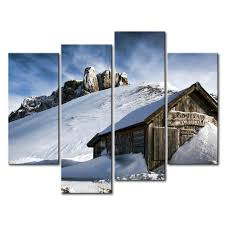 Waterfall Home Decor So Crazy Art Canvas Print Wall Art Painting For Home Decor