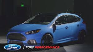 2018 ford focus. interesting 2018 2018 ford focus rs limited edition revealed  rs performance on ford focus