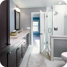 bathroom remodel gray. Bathroom Remodel Ideas Whats Hot In Gray Frameless Shower Subway Tile H