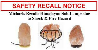 Himalayan Salt Lamp Recall Mesmerizing SHOCKING News On Your Himalayan Salt Lamps RECALLED Due To The SHOCK