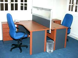 home office with two desks. Desk For 2 Two Home Office First Person L In Less Than 20 Inches Deep With Desks