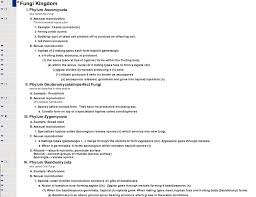Outline Sample Science Graphic Organizer And Outline Examples From Webspiration 23