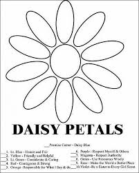 Coloring Pages For 10 Year Old Girls Download Daisy Girl Scout Law