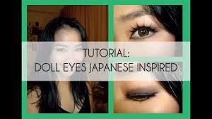 tutorial doll eyes anese inspired make up