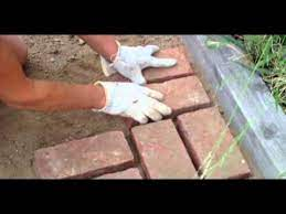 how to lay bricks you