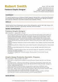 Freelance Graphic Designer Resume Samples Qwikresume
