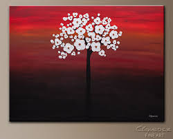 wedding flowers abstract art painting image by carmen guedez