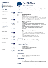 resume system administrator system administrator resume sample and writing guide 20