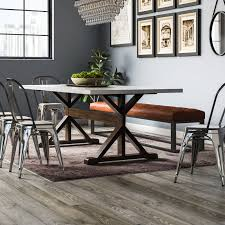 Trent Austin Design Industrial Dining Room Design Photo By Trent Austin Design