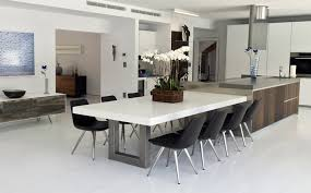 kitchen dining tables. Unique Kitchen Dining Tables Custom Concrete Trueform