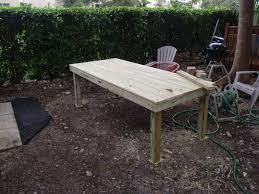 trendy diy patio dining table plans finished a patio table simple decoration