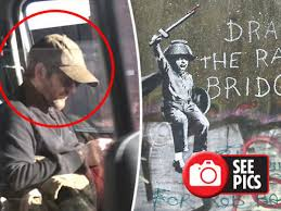 Banksy pictured for FIRST TIME: Street artist caught on camera near latest  Hull artwork - Daily Star