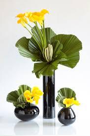 modern yellow arrangements remember those black vases i showed
