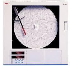 Chart Recorder Pens Abb C1911ja001100000std Commander Circular Chart Recorder 1 Pen