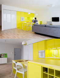 yellow kitchens with white cabinets affordable kitchen light grey