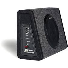 kicker pt250 10 subwoofer built in 100w amplifier walmart com