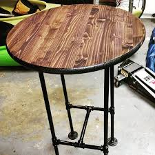 high round bar table images decoration ideas