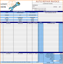 auto body repair invoice template excel pdf word doc a 11 auto repair invoice template down