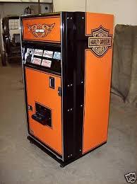 Harley Davidson Vending Machine Best HARLEY DAVIDSON COKESODAVENDING MACHINE 48