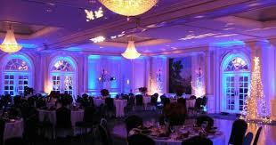 knoxville lighting decor blue wedding uplighting