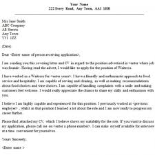 permalink to waitress cover letter waitress application