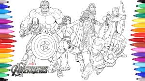 Select from 35428 printable crafts of cartoons, nature, animals, bible click the avengers hulk coloring pages to view printable version or color it online (compatible with ipad and android tablets). The Avengers Coloring Pages Coloring Painting Avengers Iron Man Captain America Thor Hulk Youtube
