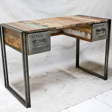industrial style office desk. Simple Office Fantastic Industrial Office Desk And Style Wood Also White  Throughout N