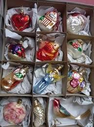 Vintage 1920s German Carved Wood Christmas Tree Doll Ornaments ...