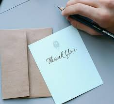 How To Write A Thank You Note Thank You Card Etiquette The Old