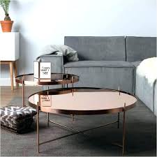 copper top side table round hammered coffee large size of bar metal stand c copper top side table