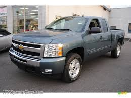 2009 Chevrolet Silverado 1500 LT Extended Cab 4x4 in Blue Granite ...