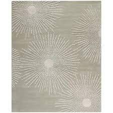 safavieh soho grey ivory wool 8 ft x 10 ft area rug