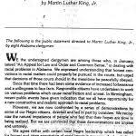 martin luther king jr letter from birmingham jail summary letter format 150x150