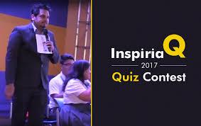 Inspiria Q Quiz Contest 2017 Inspiria Tv