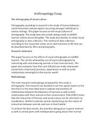 ethnography culture essays  ethnographic essays and papers 123helpme com