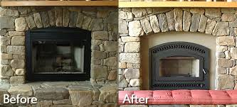 tradition ce customer had a factory built wood burning fireplace