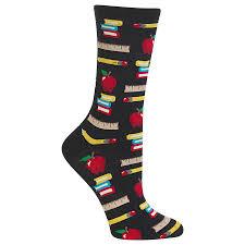 Patterned Crew Socks Custom Design