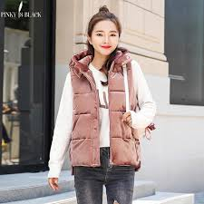 <b>PinkyIsBlack 2019</b> Hot selling Autumn Winter Vest <b>Women female</b> ...